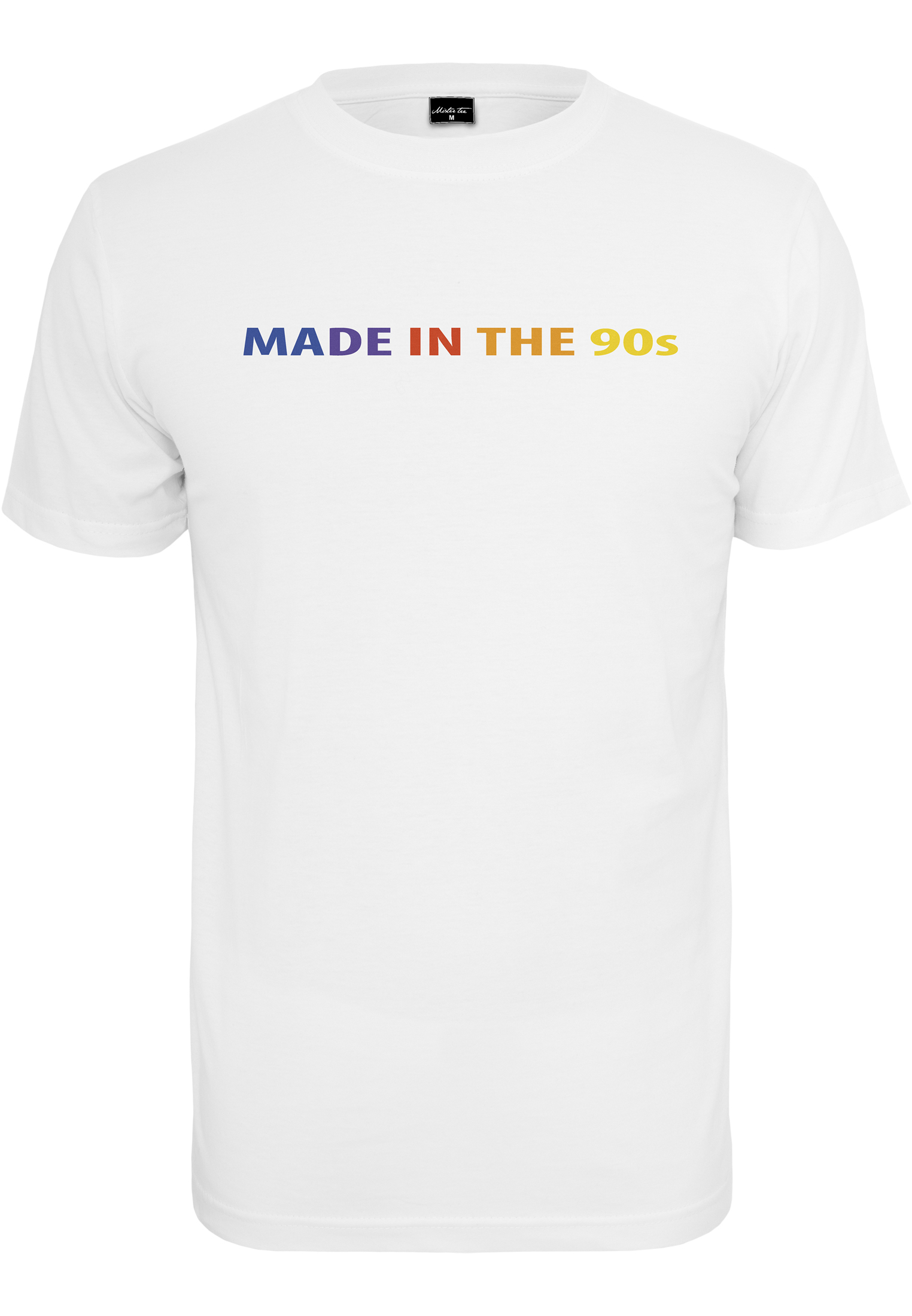 Mister Tee Made In The 90s Tee white - S