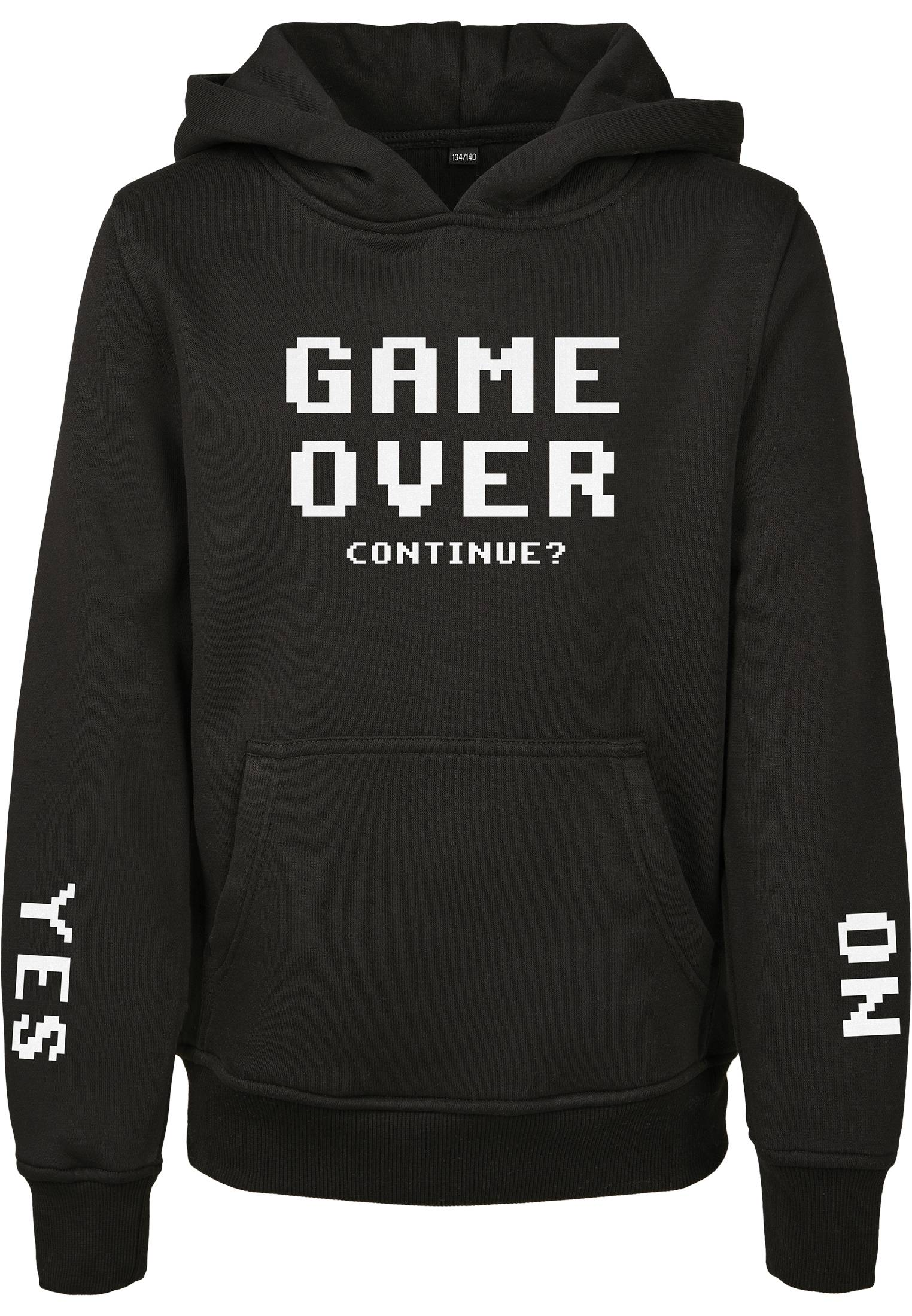 Mister Tee Kids Game Over Hoody black - 122/128