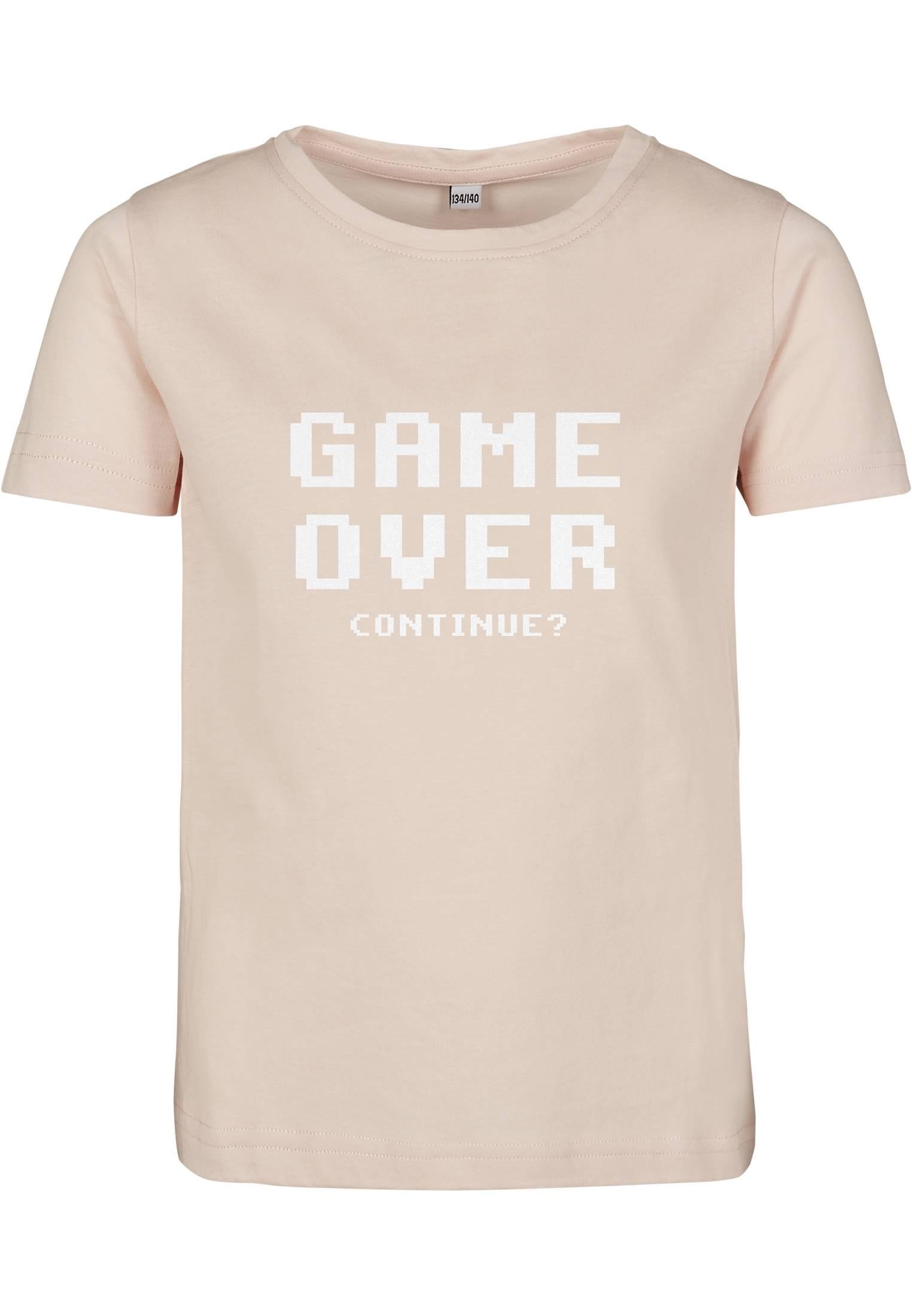 Mister Tee Kids Game Over Tee pink - 110/116