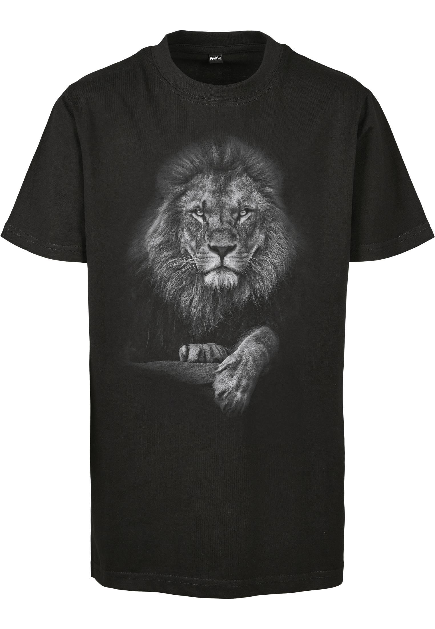 Mister Tee Kids Lion Tee black - 122/128