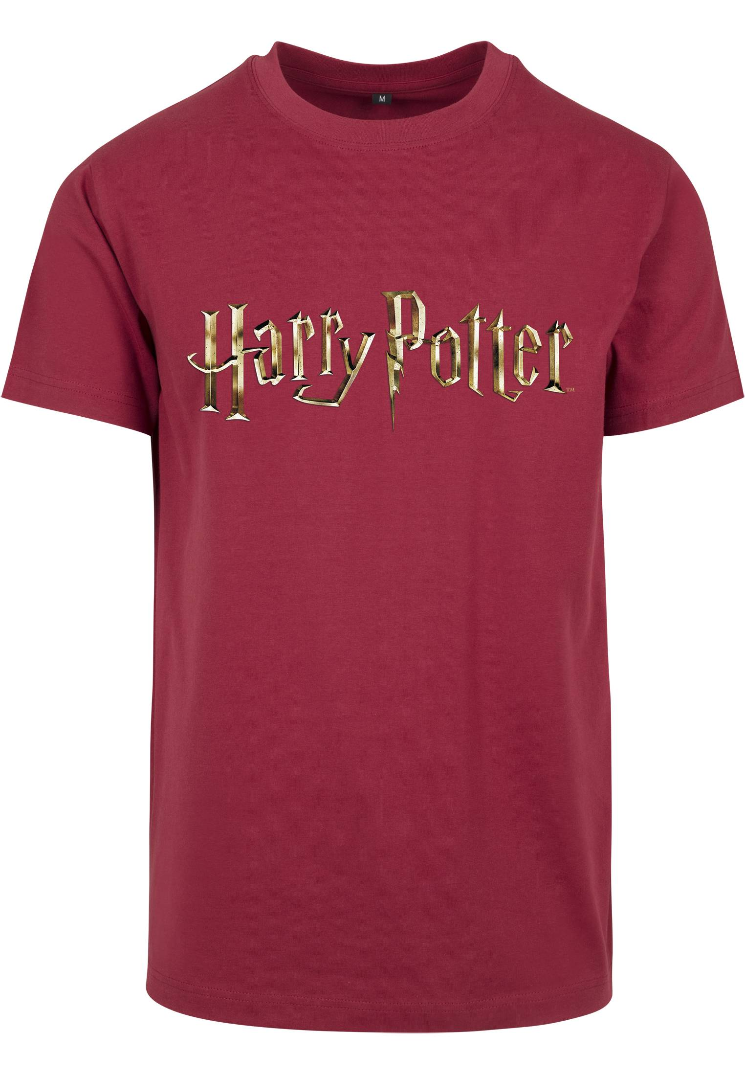 Merchcode Harry Potter Logo Tee burgundy - L