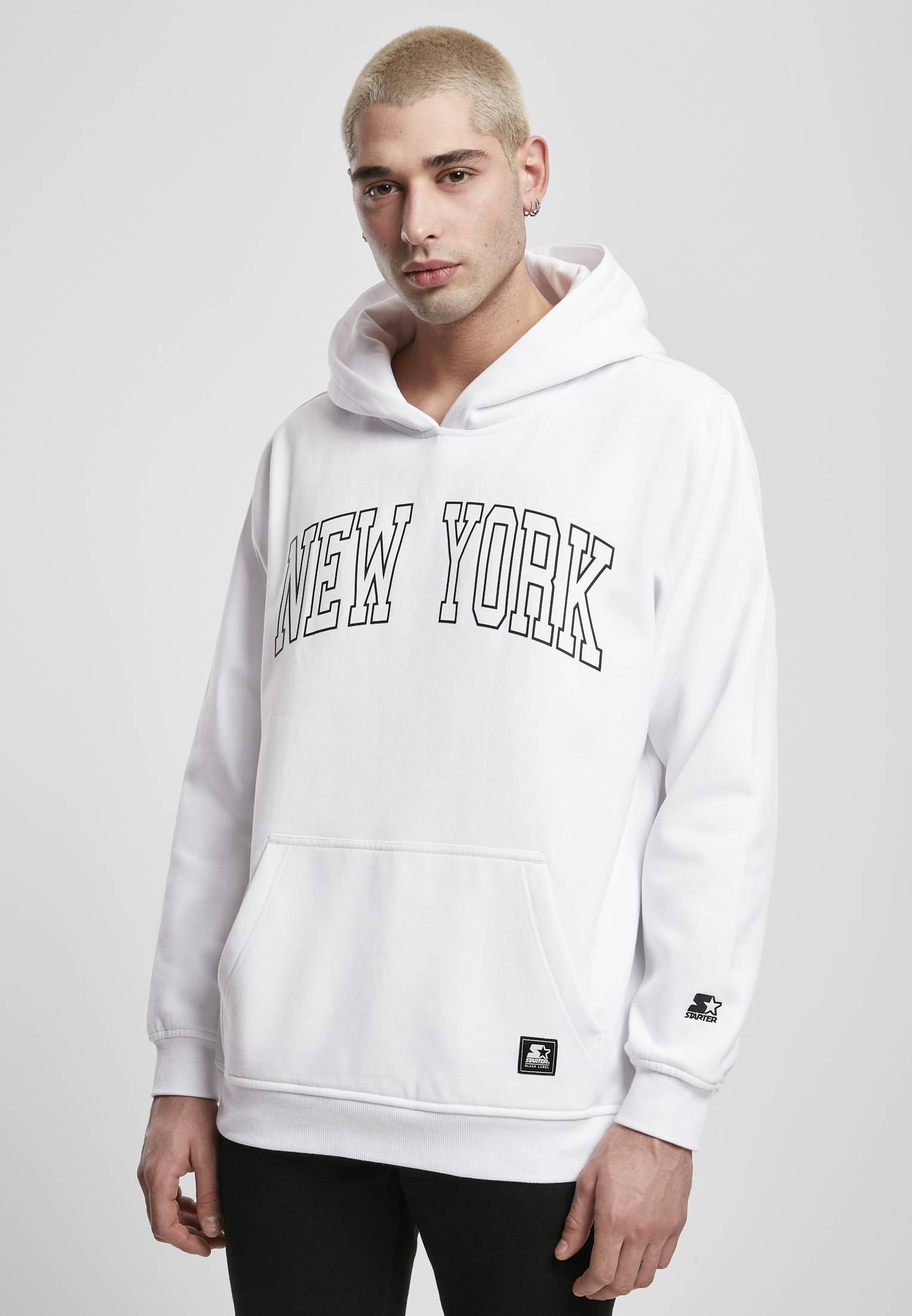Starter New York Hoody white - L