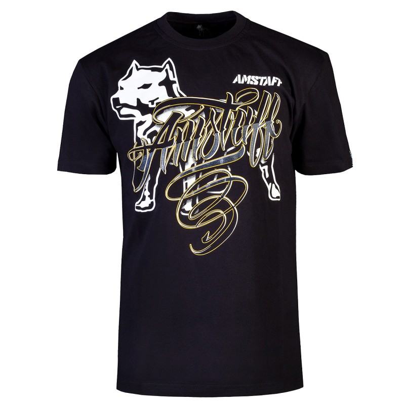 Amstaff Fural T-Shirt - black - L / čierna
