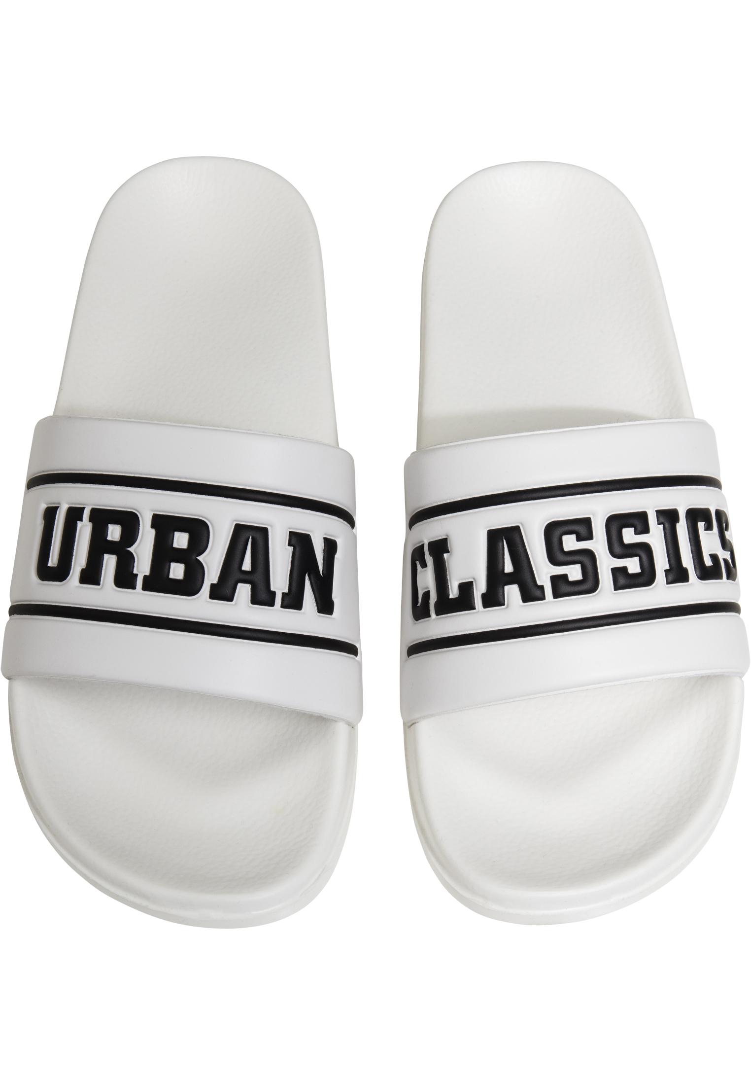 Urban Classics UC Slides white - 37