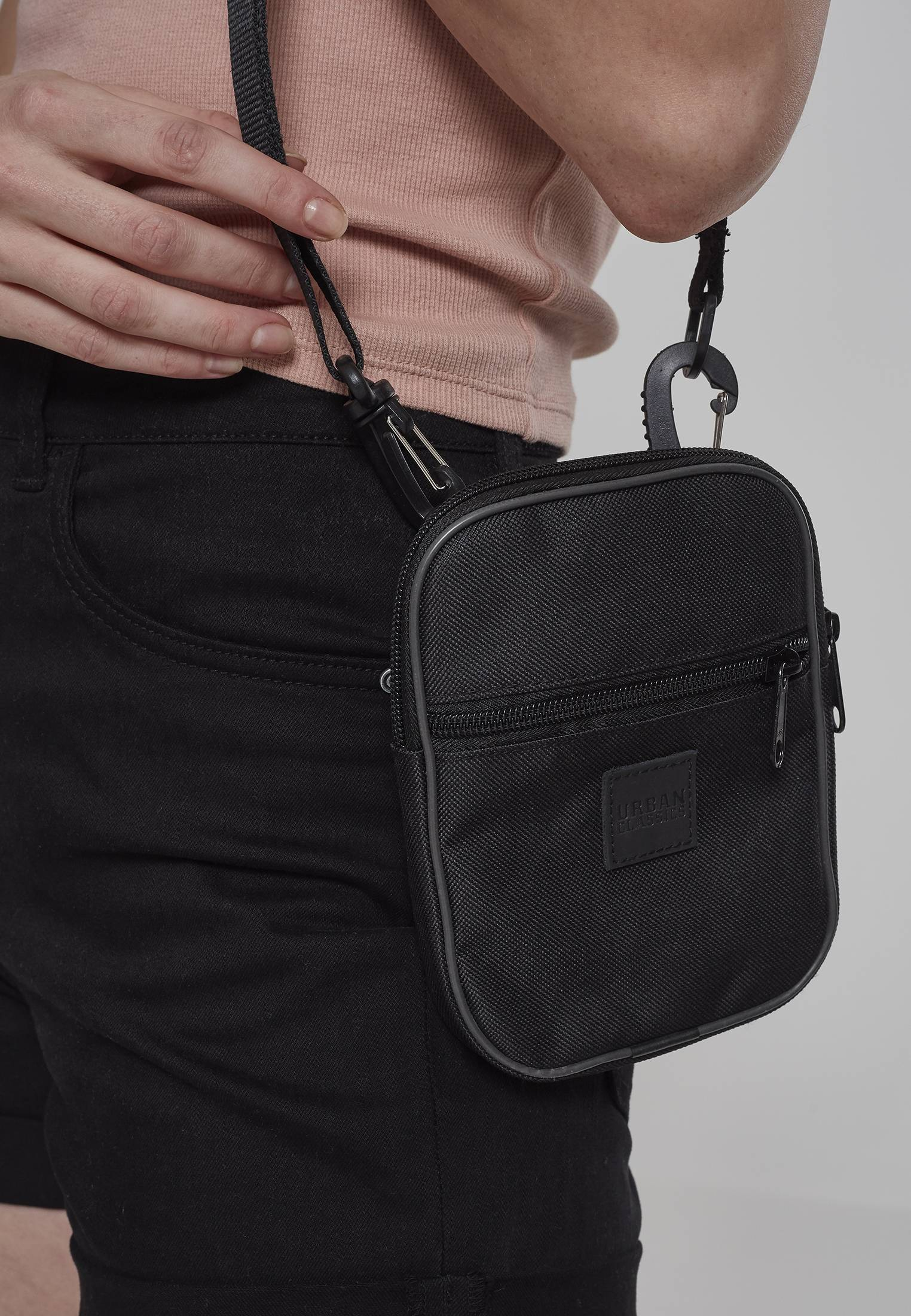Urban Classics Festival Bag Small black - One Size