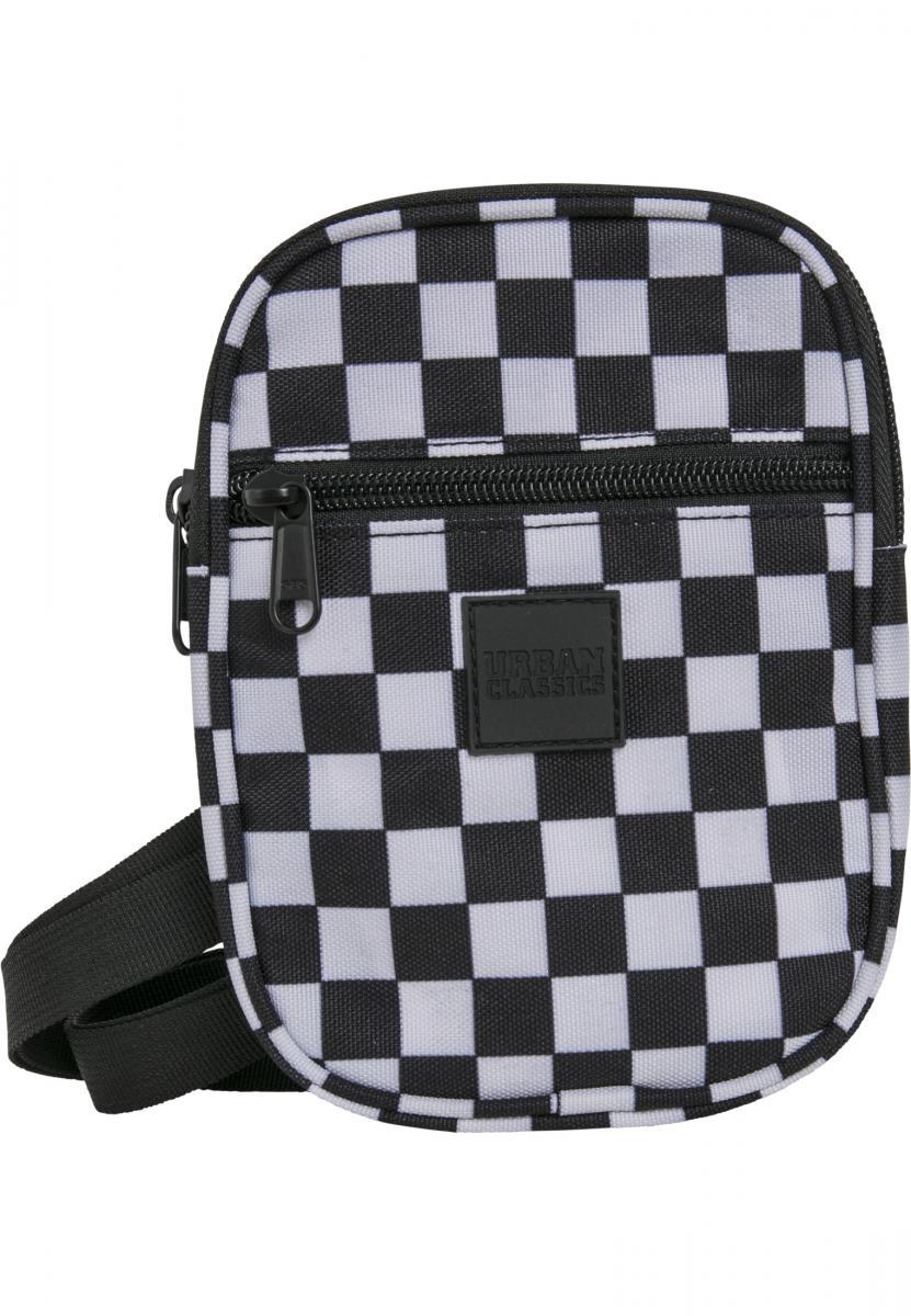 Urban Classics Festival Bag Small black/white - One Size