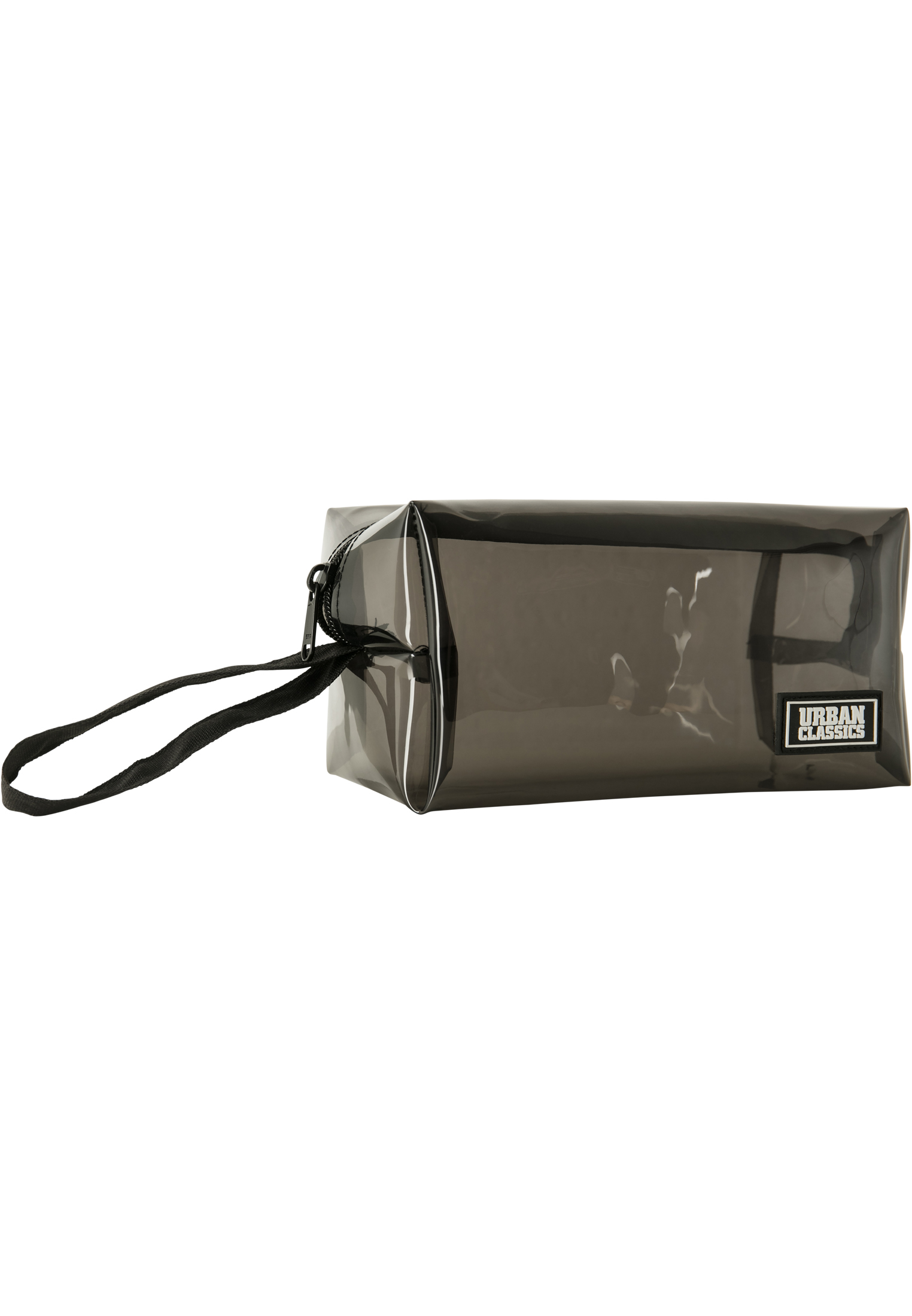 Urban Classics Tranparent Cosmetic Bag transparentblack - One Size