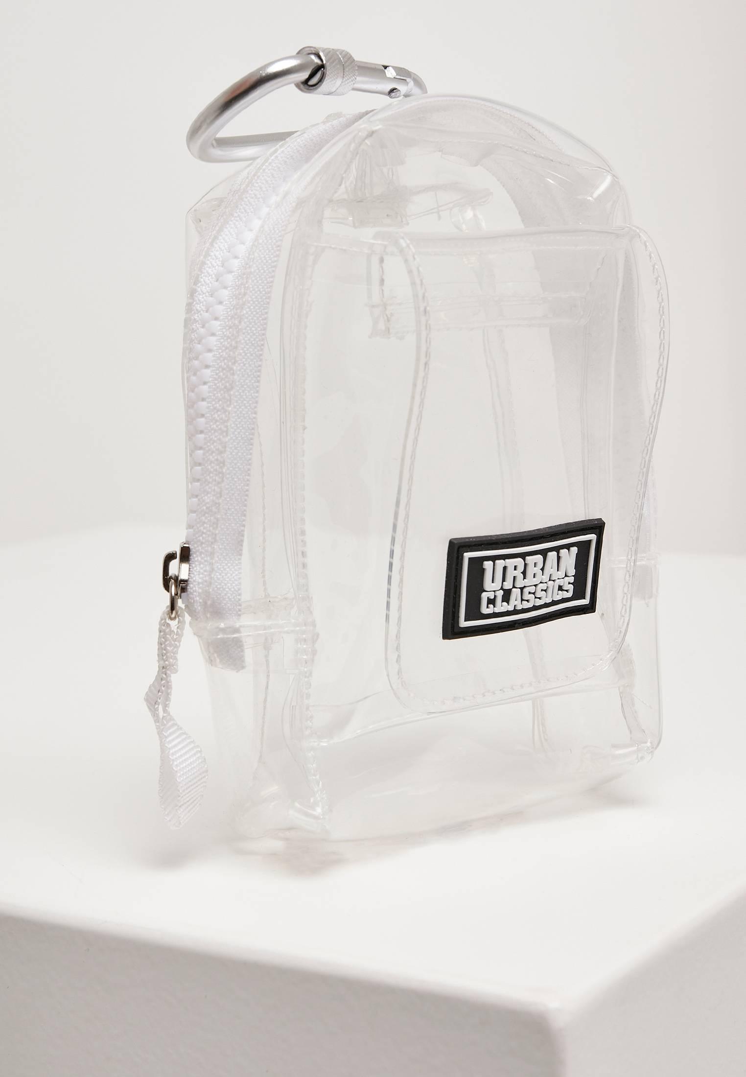 Urban Classics Transparent Mini Bag with Hook transparent - One Size