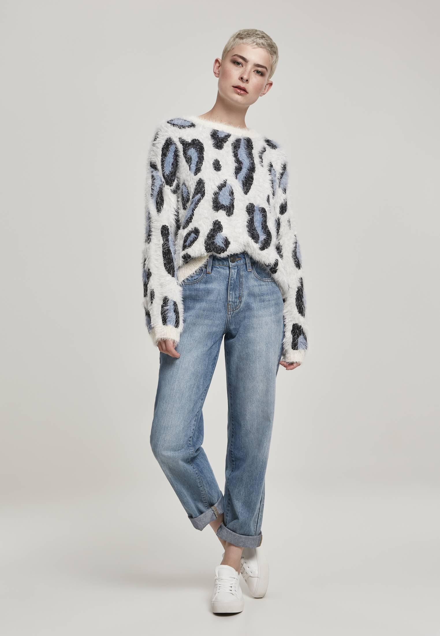 Urban Classics Ladies Leo Sweater abstract leo - L