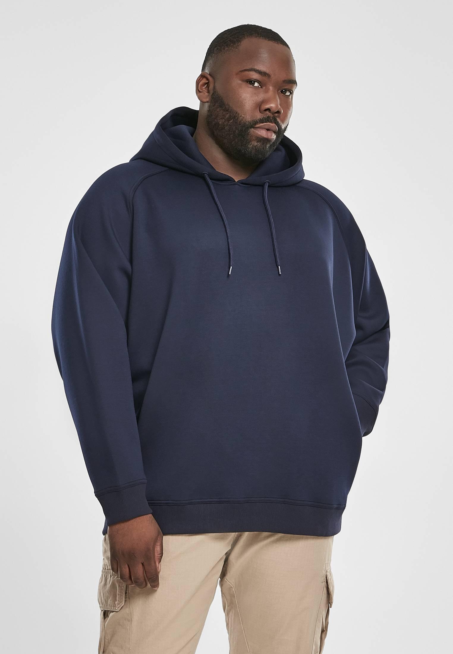 Urban Classics Raglan Zip Pocket Hoody midnightnavy - 3XL