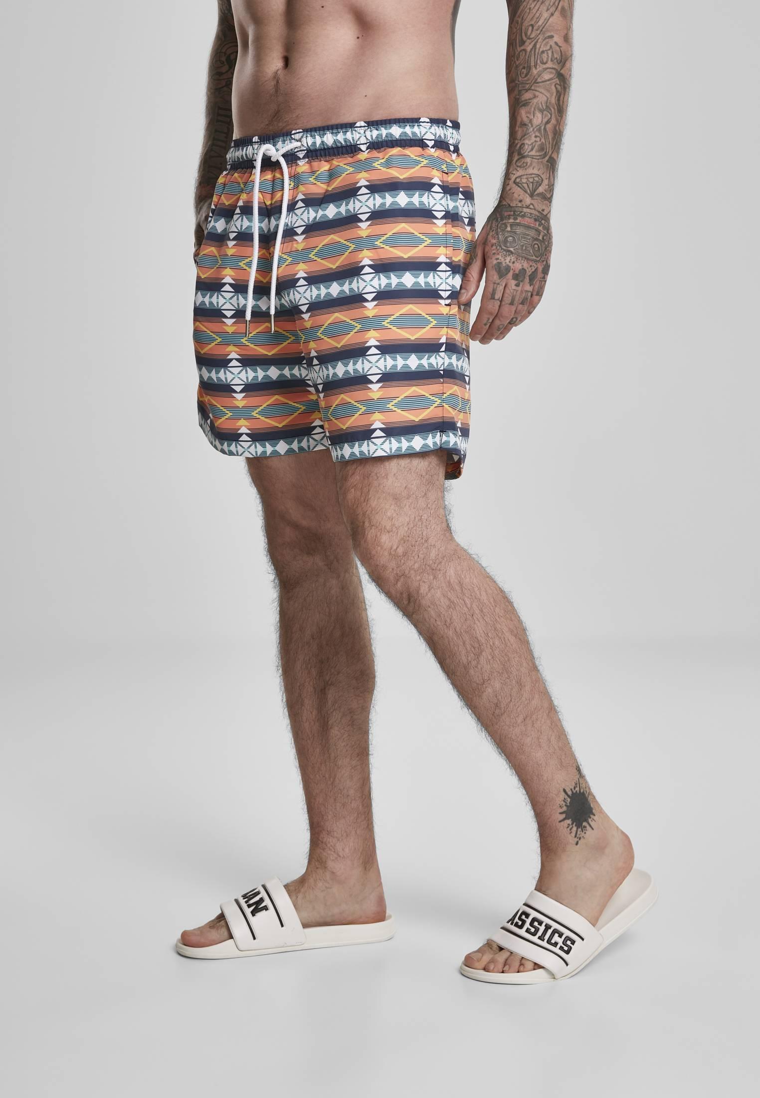 Urban Classics Inka Swim Shorts white - S