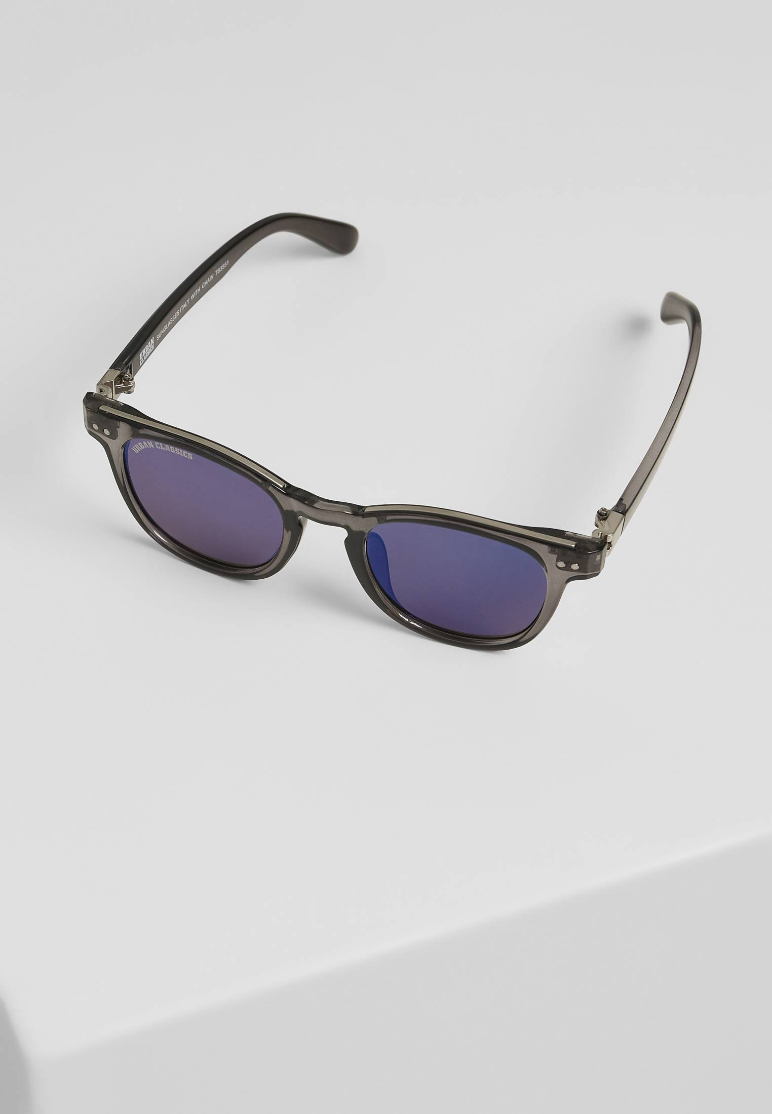Urban Classics Sunglasses Italy with chain grey/silver/silver - One Size