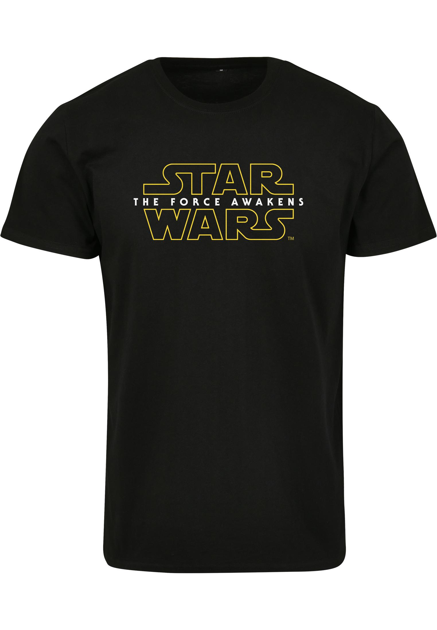 Urban Classics Merchcode Star Wars Crawl Tee black - S