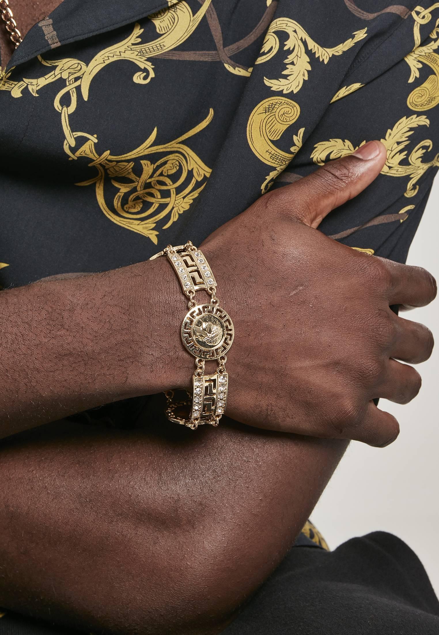 Urban Classics Fancy Bracelet gold - L/XL