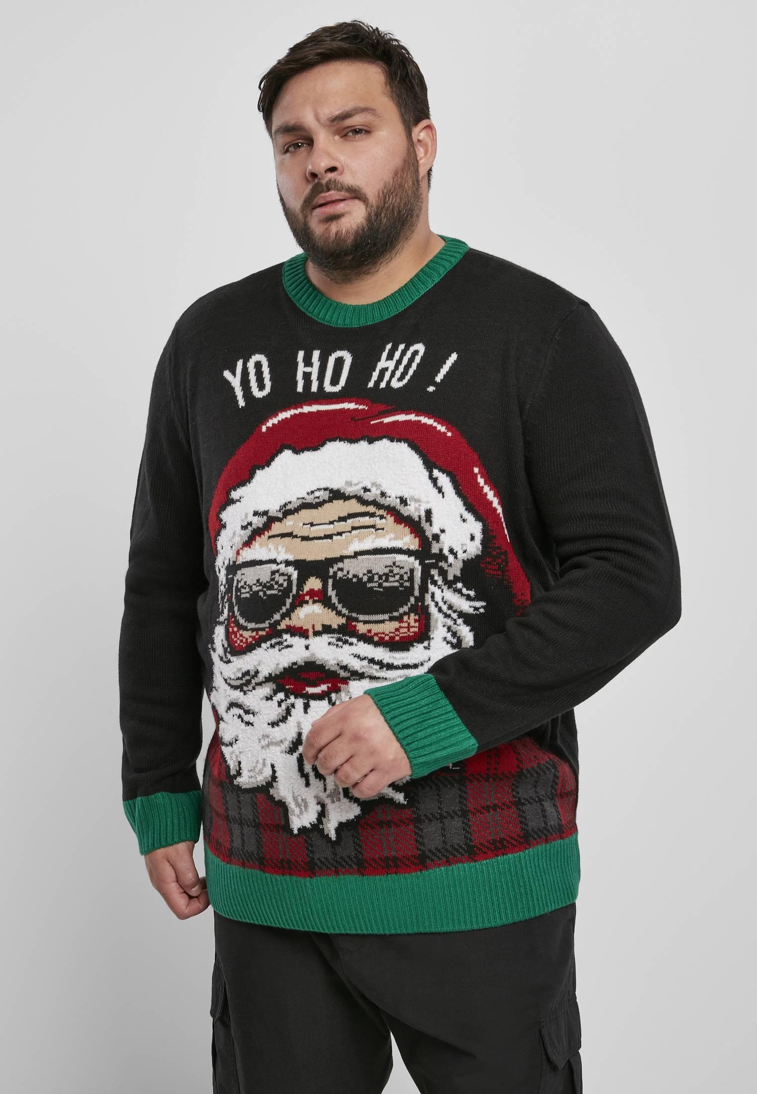 Urban Classics Ho Ho Ho Sweater black - 3XL