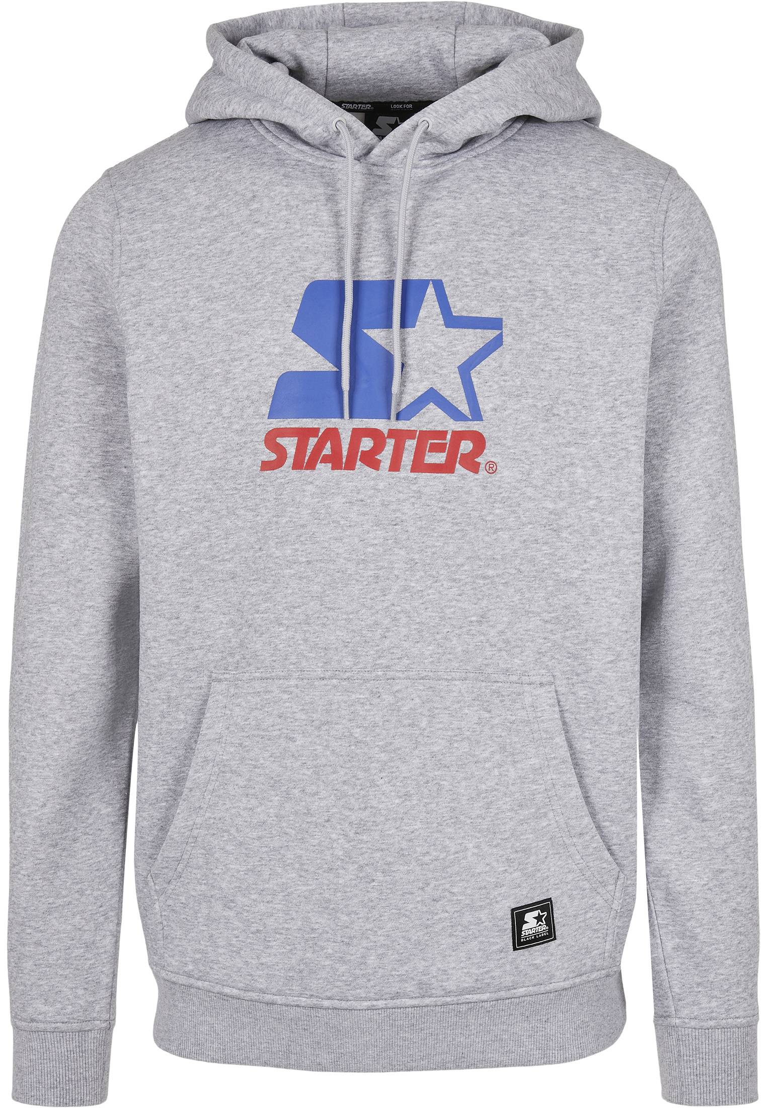 Starter Two Color Logo Hoody h.grey - S