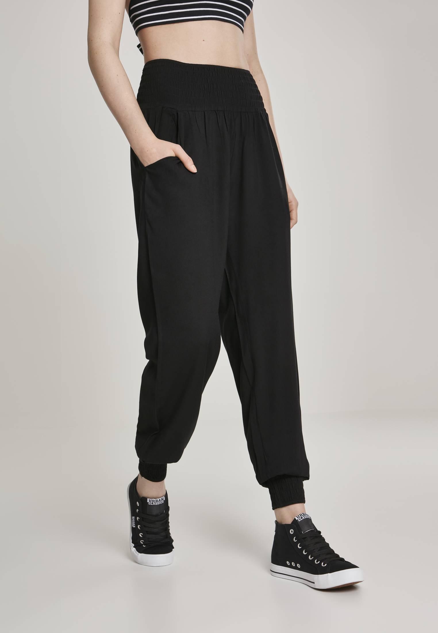 Urban Classics Ladies Sarong Pants black - 4XL