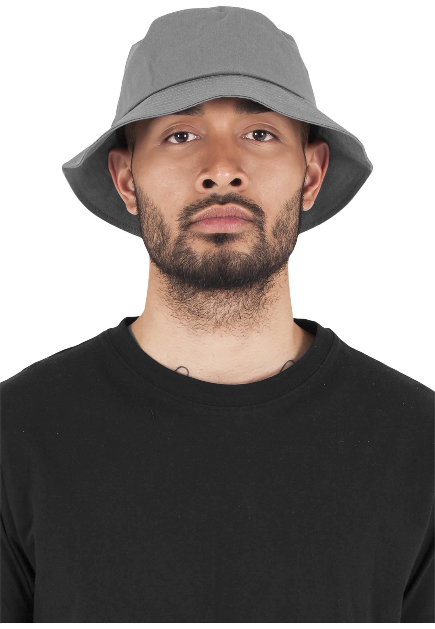 Urban Classics Flexfit Cotton Twill Bucket Hat grey - One Size
