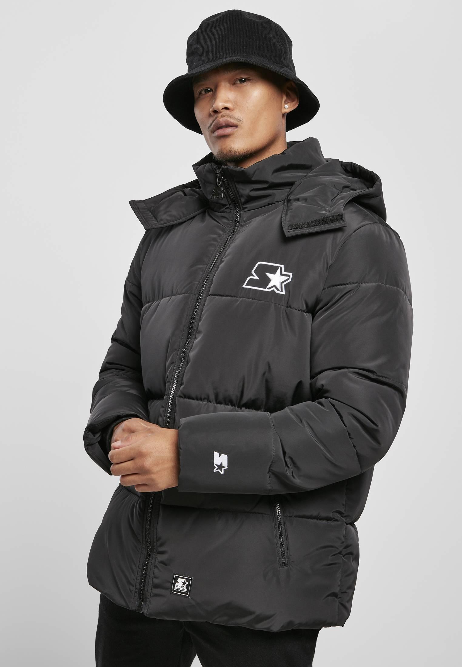 Starter Puffer Jacket black - S