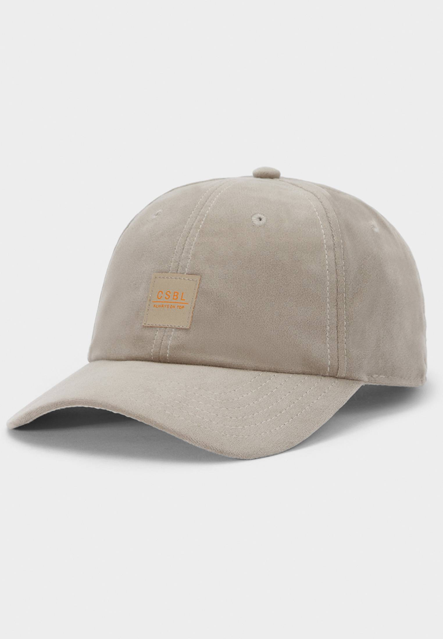 Urban Classics CSBL New Age Curved Cap beige - One Size