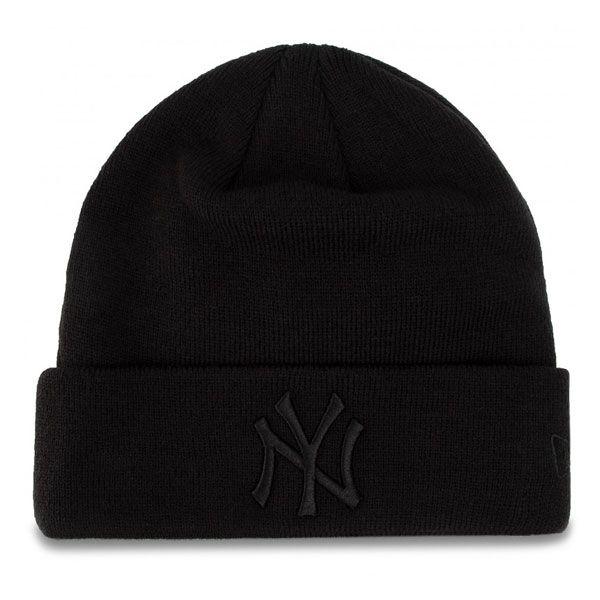 NEW ERA MLB essential cuff knit NEYYAN Black - Uni