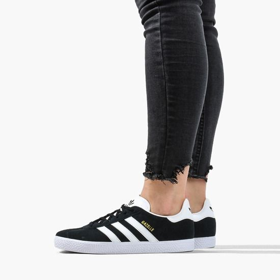 Adidas Gazelle Junior Black - 4 - 3.5 - 22 cm - 38.5