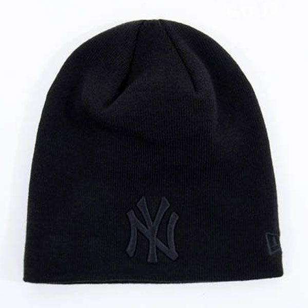NEW ERA MLB Dark Base Skull Knit NY Yankees - Uni