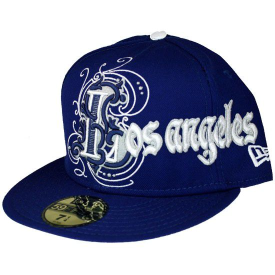 New Era Cap Blue White - 7 1/4 / modrá