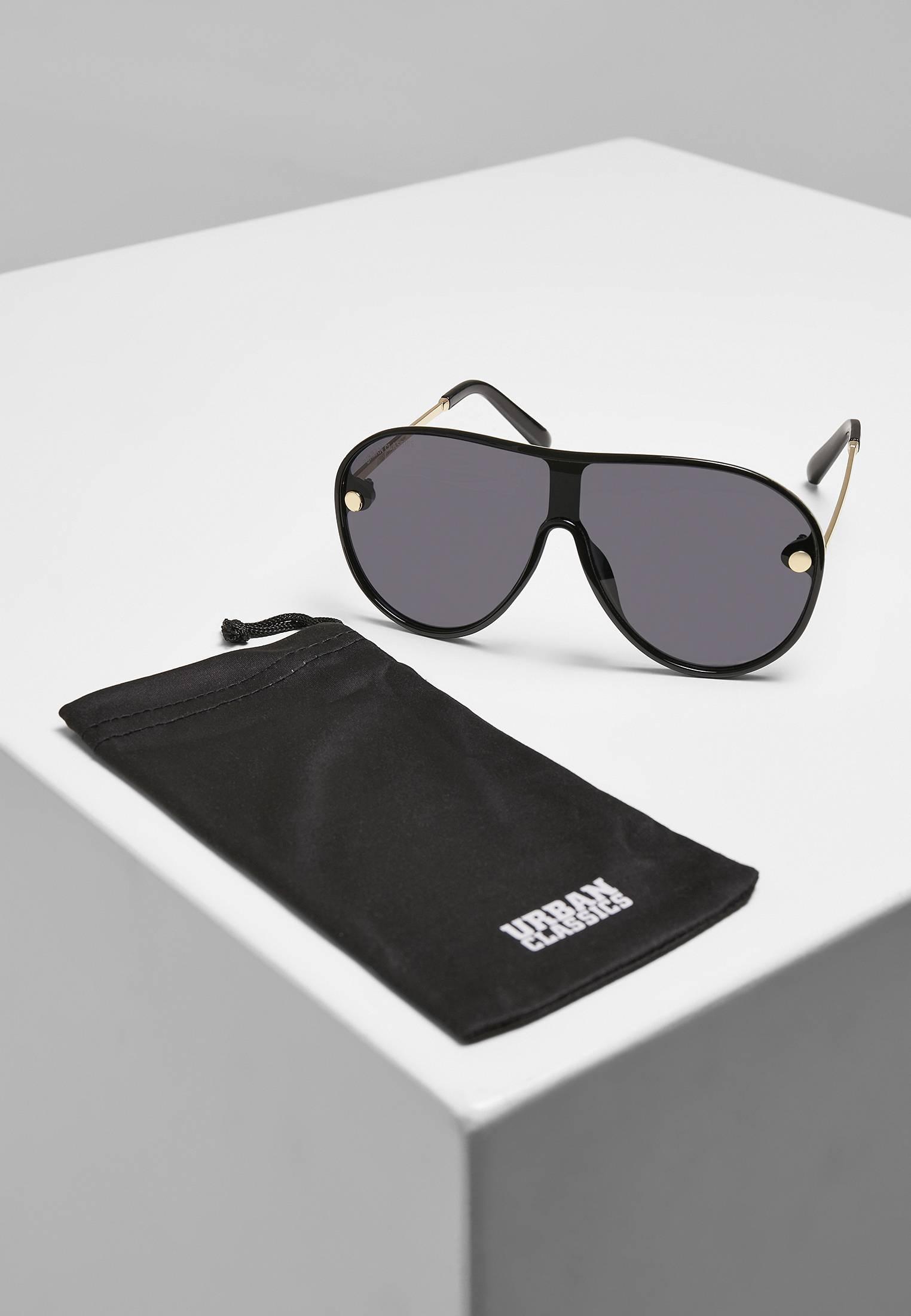 Urban Classics Sunglasses Naxos black/gold - One Size