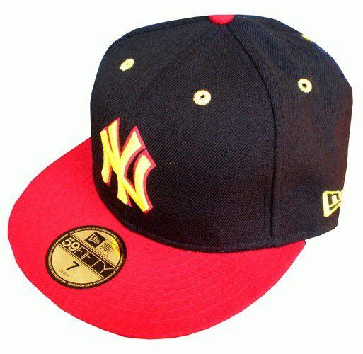 New Era Flexit Cap Blk Rd - 7 3/8 / čierno-červená