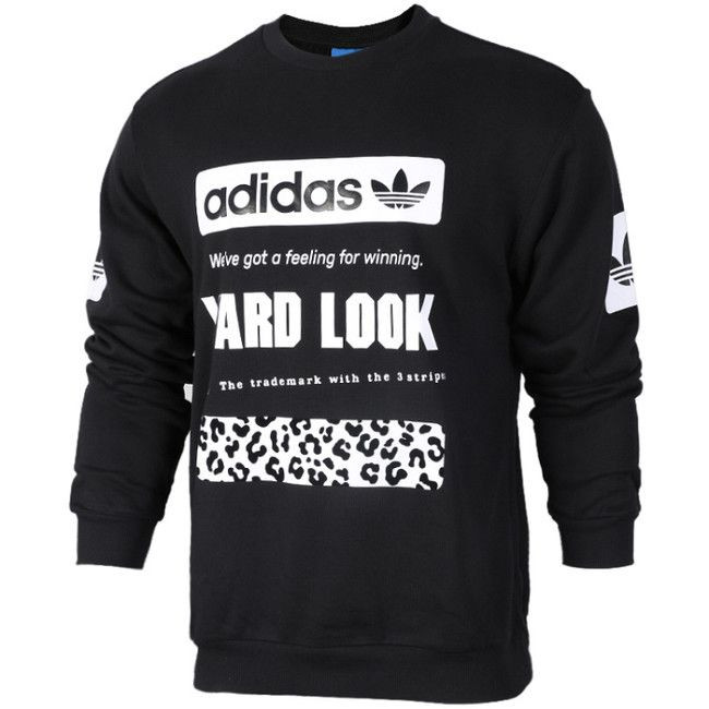Adidas Graphic Crew SW Black CD1717 - L