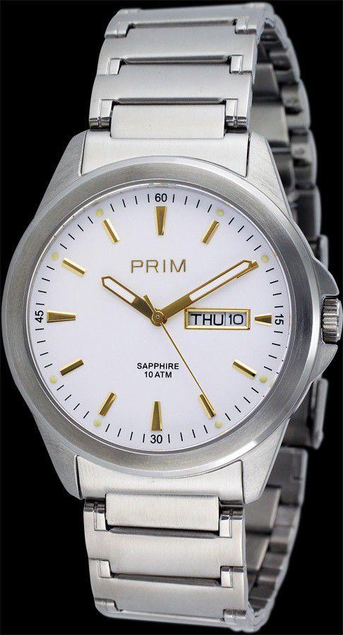 PRIM Watch 2006silver - Uni / strieborná