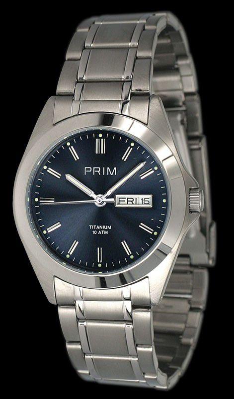 PRIM Watch 2009silver - Uni / strieborná