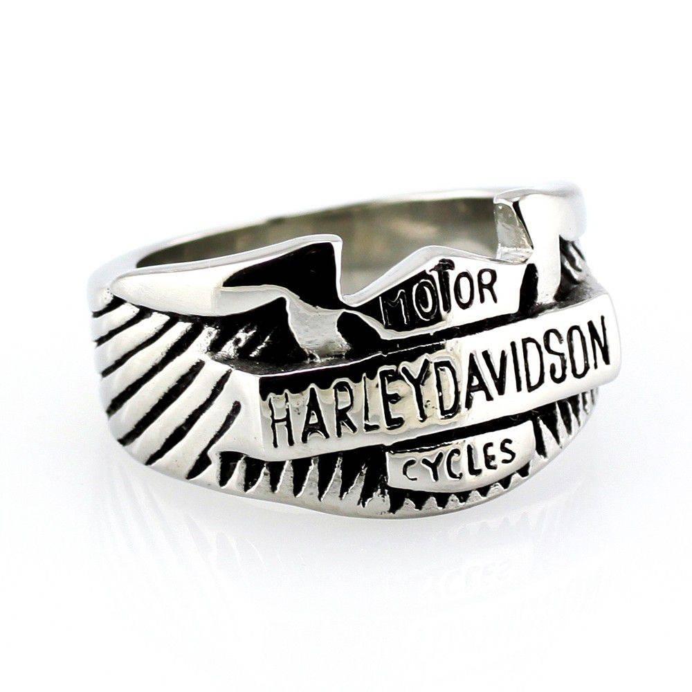 PRIM Steel Harley Ring - 10 / strieborná