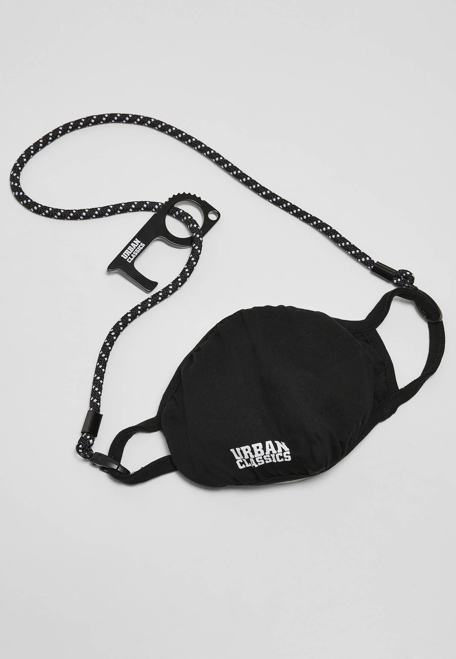 Urban Classics Safety Set black - One Size