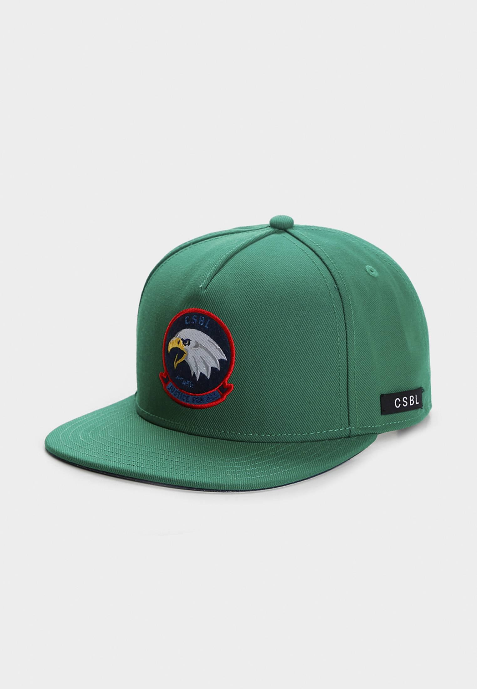 Urban Classics CSBL Freedom Corps Cap green - One Size