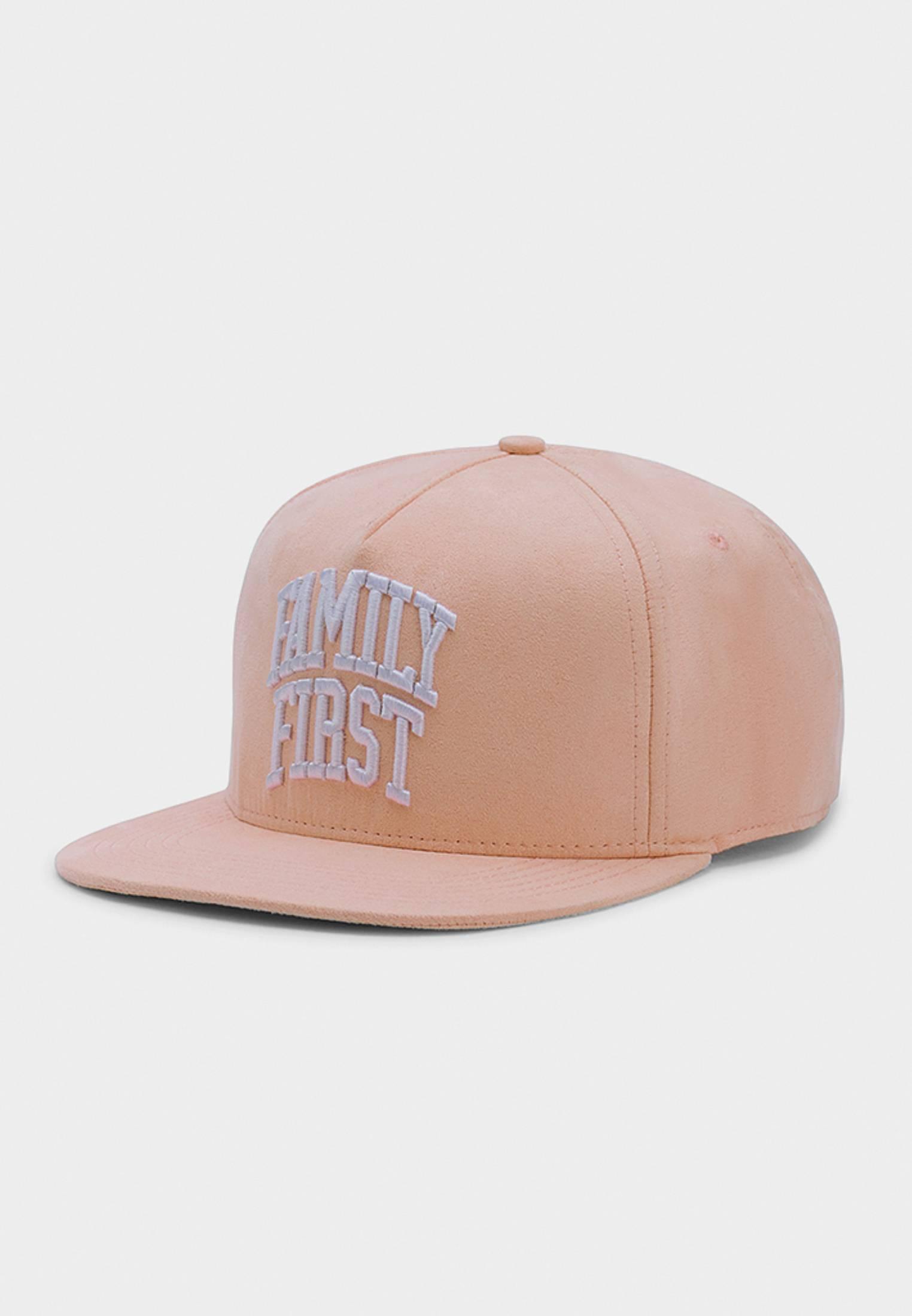 Urban Classics CSBL Priority Cap light peach/white - One Size
