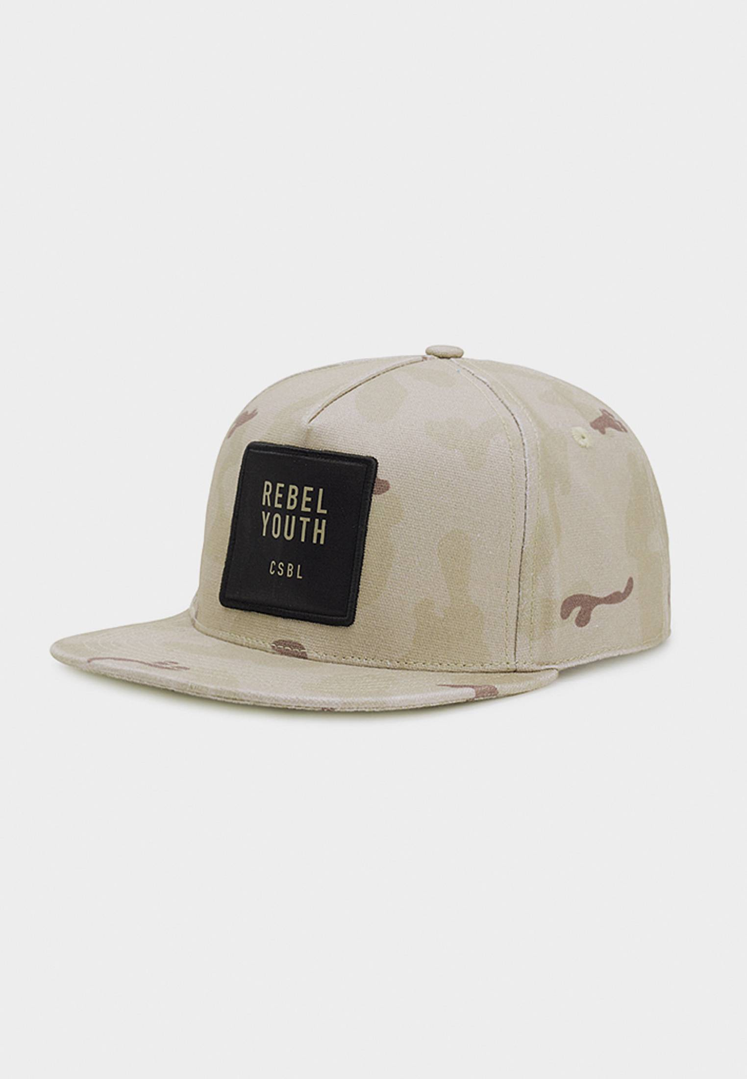 Urban Classics CSBL Rebel Youth Cap desert camo/black - One Size