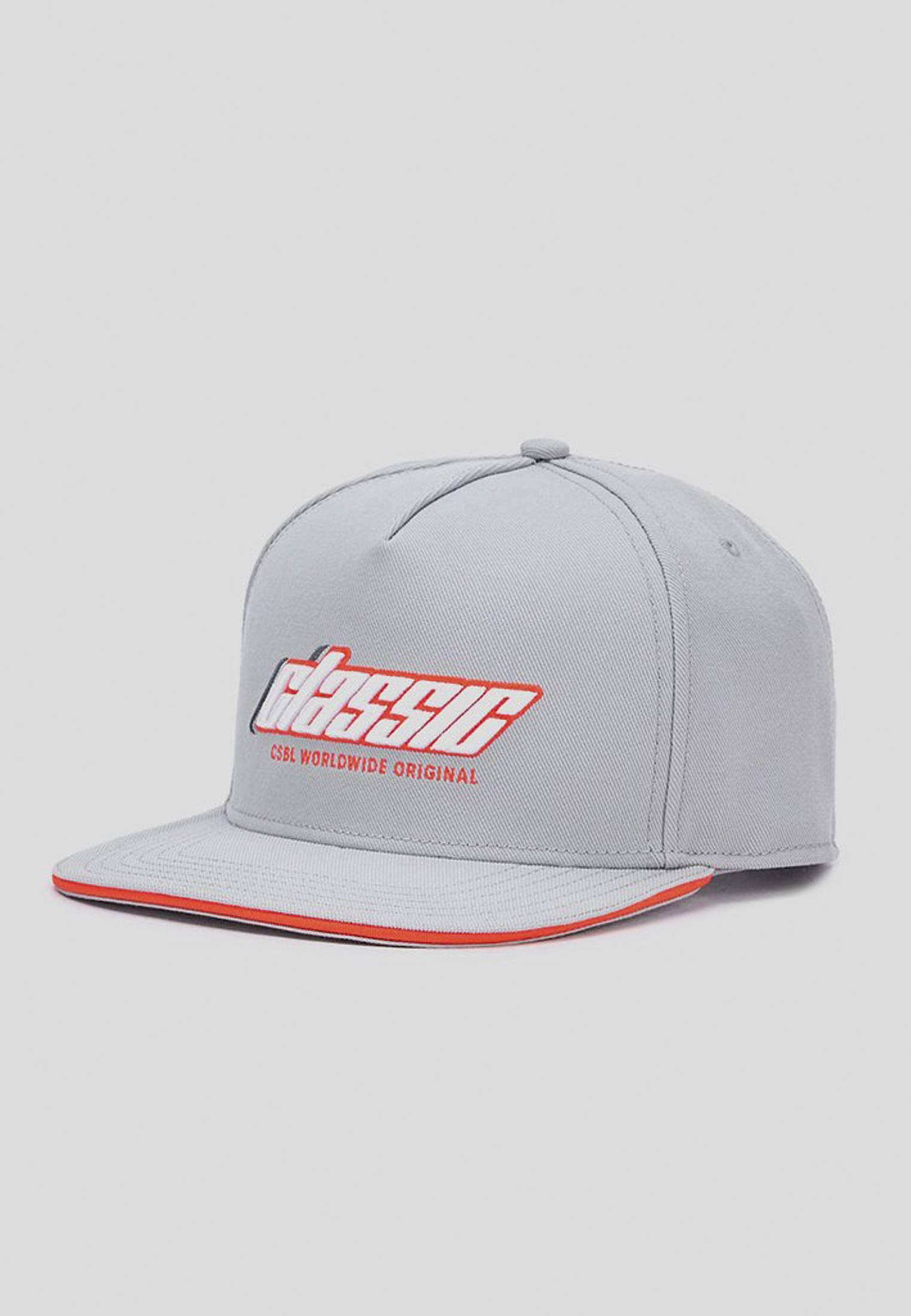 Urban Classics CSBL Shifter Cap grey/lazerred - One Size