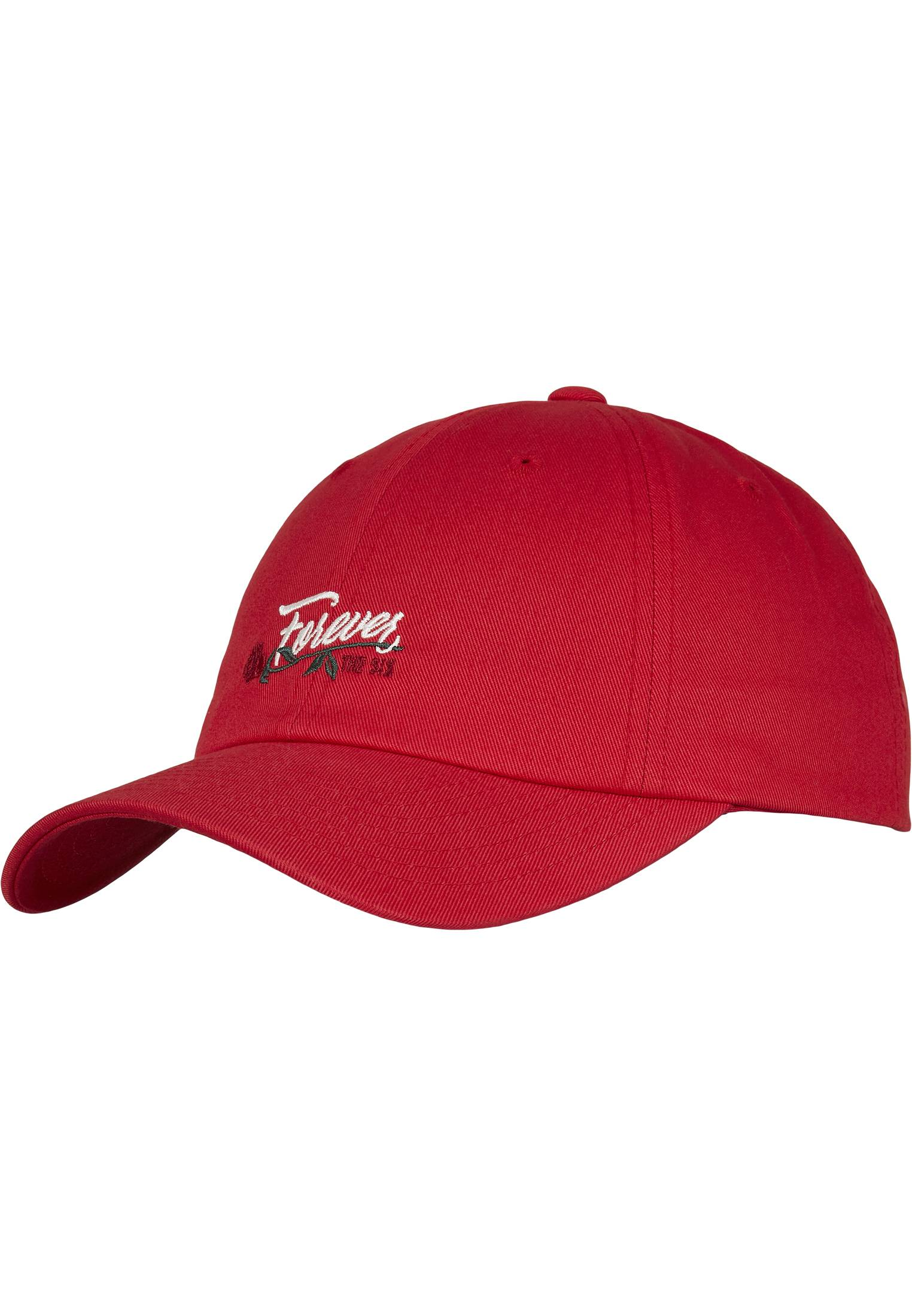 Urban Classics C&S WL Six Forever Curved Cap red/mc - One Size