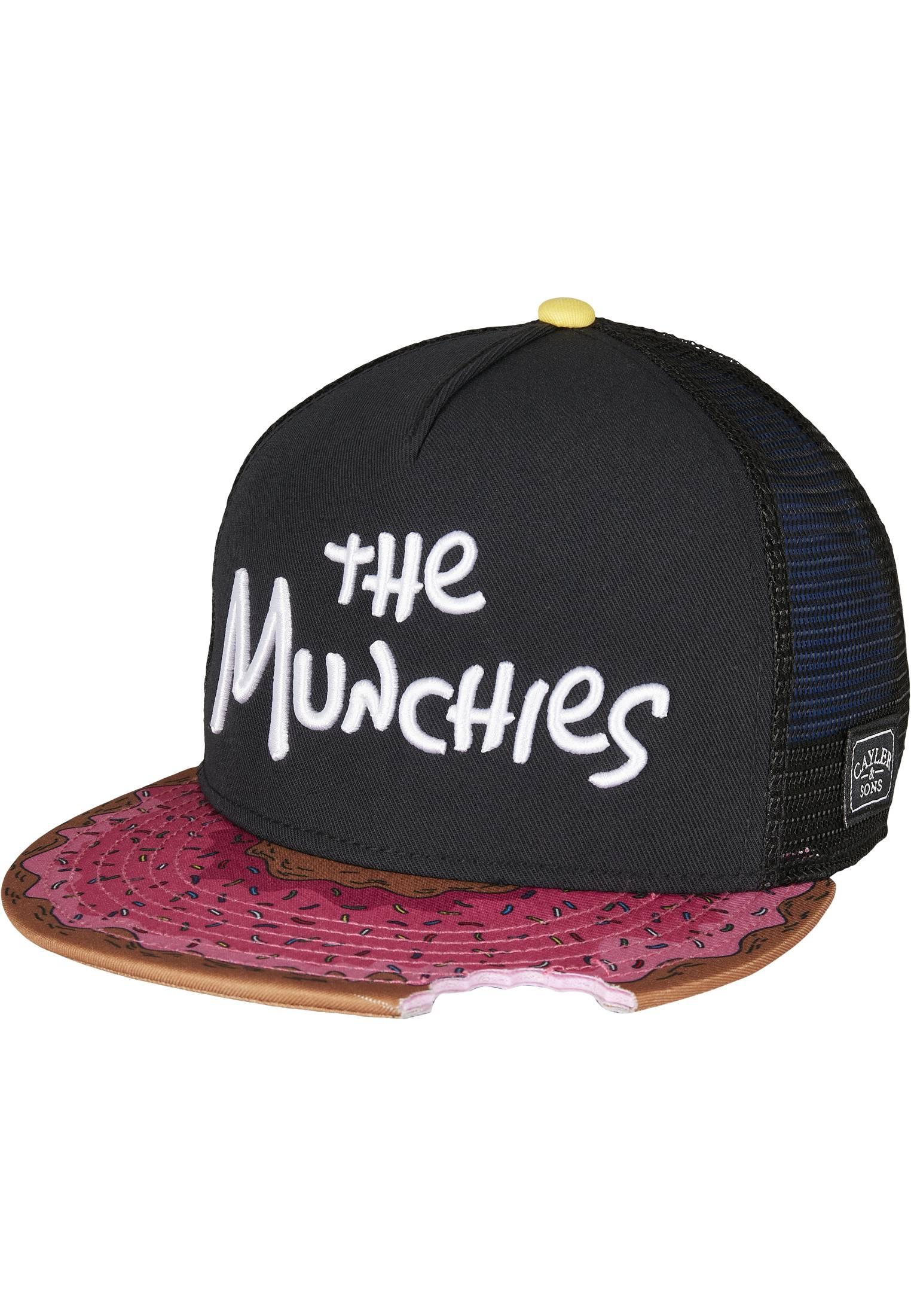 Urban Classics C&S WL Munchies Trucker Cap black/mc - One Size