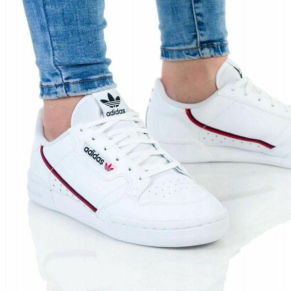 Adidas Continental 80 Junior White - 4.5 - 4 - 22.5 cm - 36.7