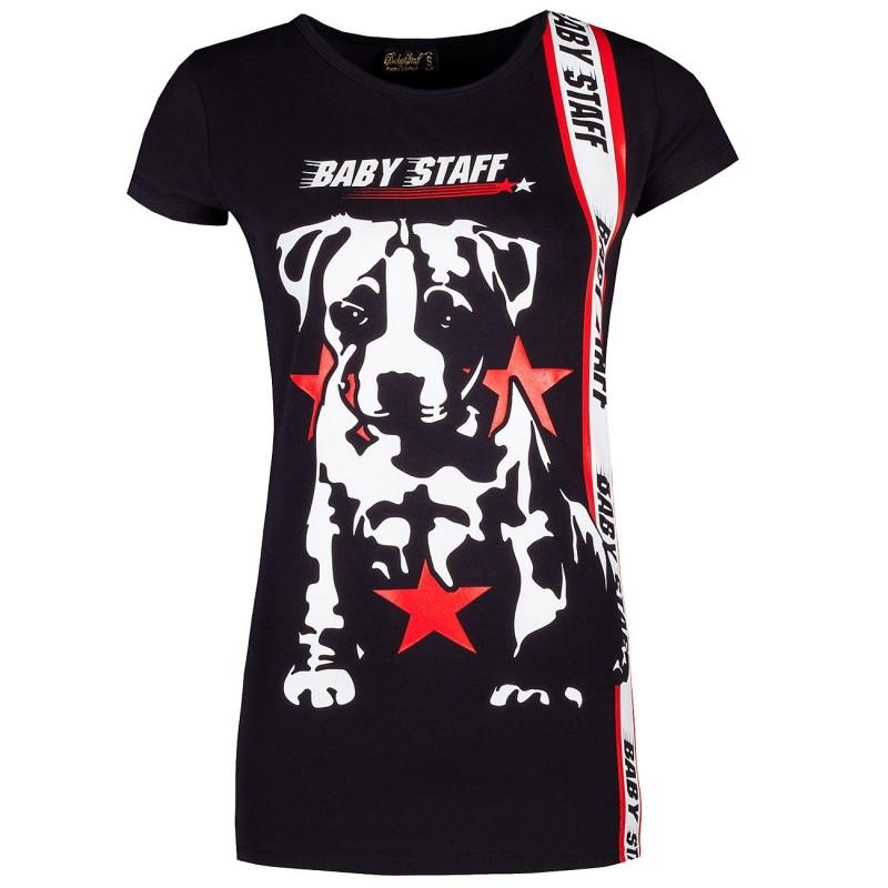 Babystaff tričko - L / čierna