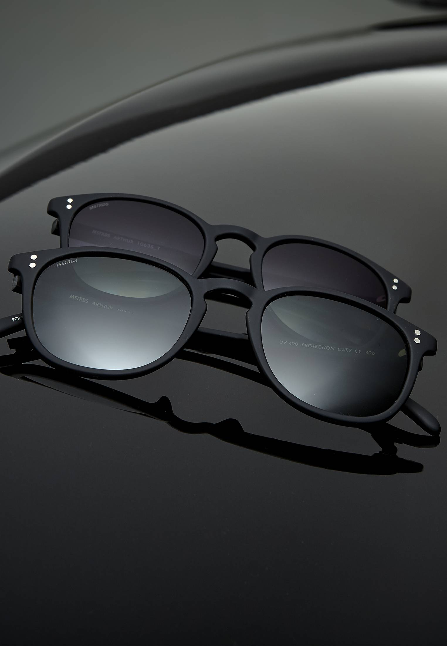 Master Dis Sunglasses Arthur Youth blk/gry - One Size