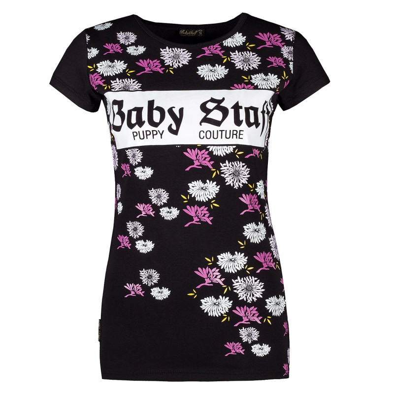 BABYSTAFF RYA T-SHIRT - BLACK - M / čierna