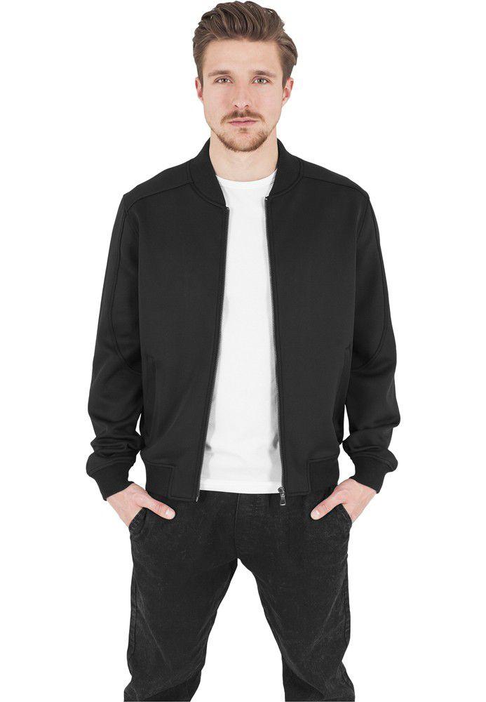 Urban Classics Neopren Zip Jacket Blk - S / čierna