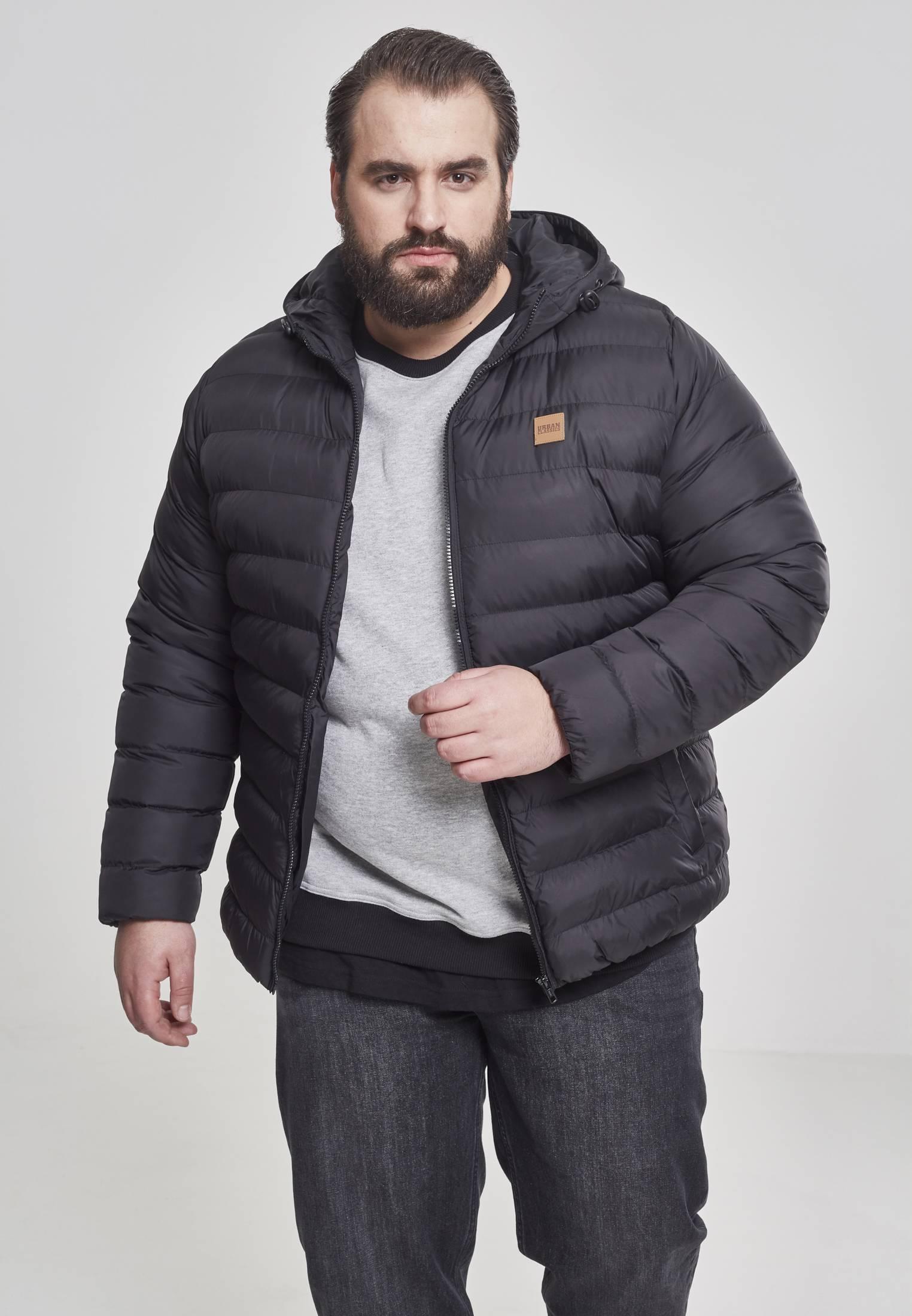Urban Classics Basic Bubble Jacket blkblkblk - S