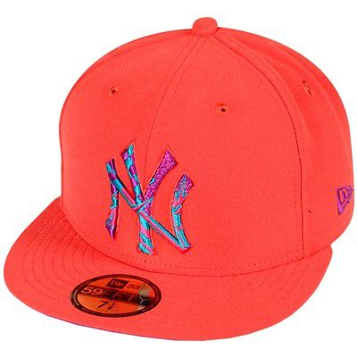 New Era Cap Orange - 7 1/2