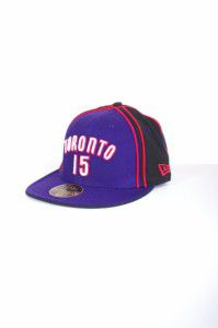 NEW ERA TORONTO RAPTORS PITCHING CAP PURPLE/BLACK - 7 / fialovo-čierna