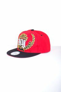 REGAL CAP NEW YORK SHINE CAP RED BLACK - 7 1/2 / červeno-čierna